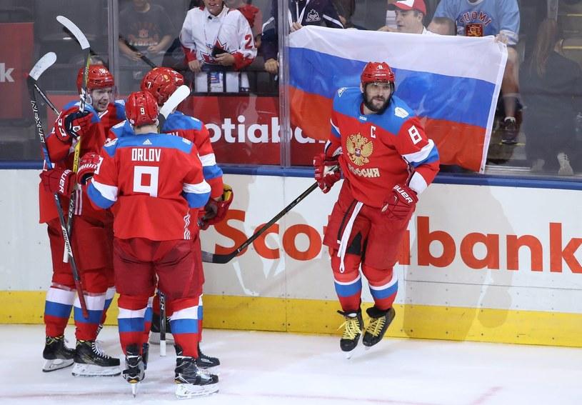 Rosyjscy hokeiści /AFP