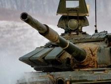 Rosyjscy pancerniacy ćwiczą ostre strzelanie