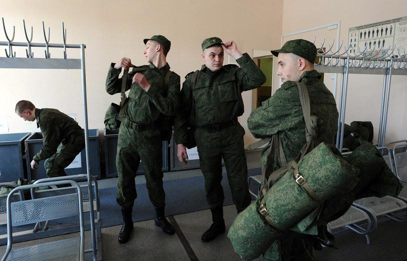 Rosyjscy poborowi są wysyłani na ukraińskie pogranicze /AFP
