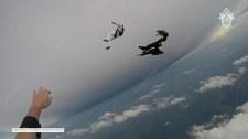 Rosyjscy spadochroniarze zderzyli się w locie