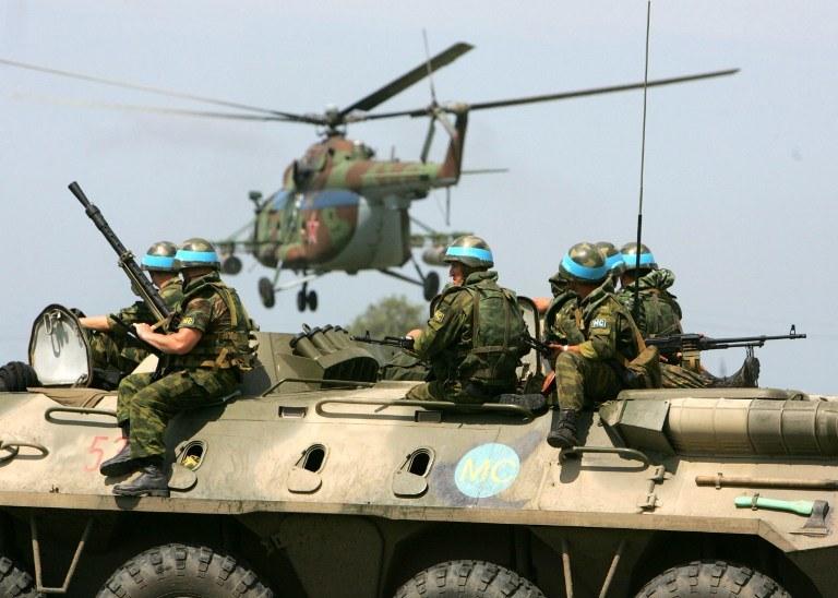Rosyjscy żołnierze, zdj. ilustracyjne /AFP