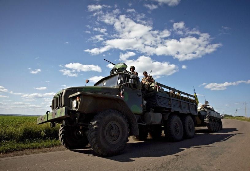 Rosyjscy żołnierze /PAP/EPA