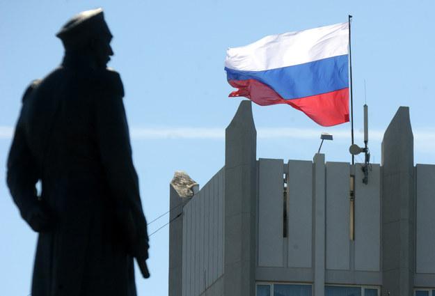 Rosyjska flaga powiewa w Sewastopolu /AFP