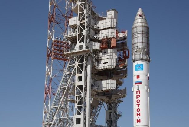 Rosyjska rakieta Proton M - zdjęcie z 13. maja /AFP