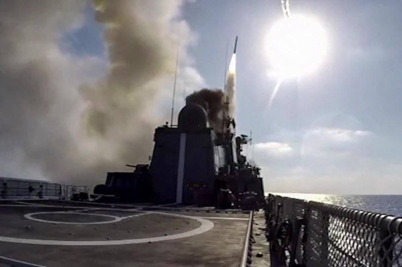 Rosyjska rakieta wystrzelona w kierunku Syrii /SPUTNIK/EAST NEWS /East News