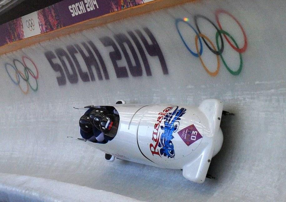 Rosyjski bobslej na igrzyskach w Soczi [zdj. ilustracyjne] /PAP/EPA/Tobias Hase   /PAP/EPA