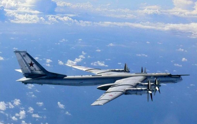 Rosyjski bombowiec Tu-95 /AFP