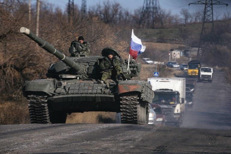 Rosyjski czołg /AFP