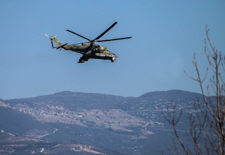 Rosyjski helikopter podczas misji w Syrii. Zdjęcie ilustracyjne /Valery Sharifulin/ITAR-TASS /PAP/EPA