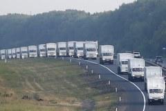 Rosyjski konwój pomocy dla Ukraińców