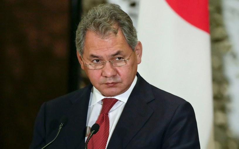 Rosyjski minister obrony Siergiej Szojgu /AFP
