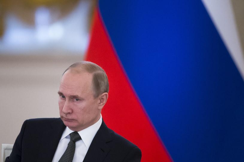 Rosyjski prezydent Władimir Putin /Alexander Zemlianichenko /AFP
