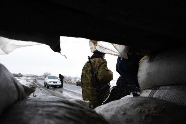 Rosyjski separatysta /AFP