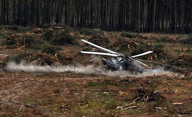 Rosyjski śmigłowiec /Agencja FORUM