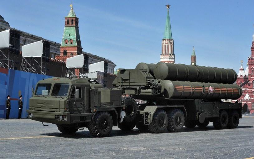 Rosyjski system rakietowy czwartej generacji typu ziemia-powietrze S-400 Triumf /Wojtek Laski /East News