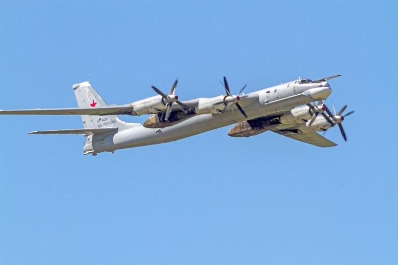 Rosyjskie bombowce dalekiego zasięgu Tu-95MS /123RF/PICSEL