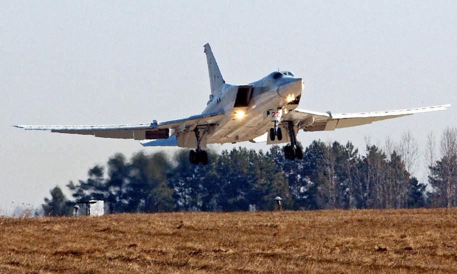 Rosyjskie bombowce nad Bałtykiem (zdj. ilustracyjne) / Tolochko Viktor    /PAP/EPA