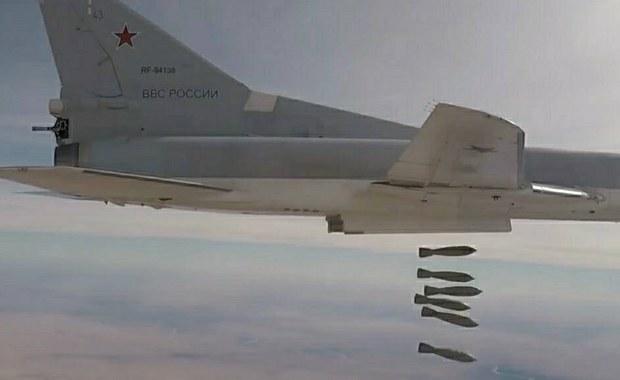 Rosyjskie bombowce zaatakowały Państwo Islamskie w Syrii
