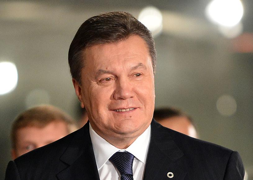 Rosyjskie media drwią z Janukowycza /AFP