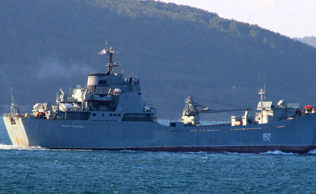 Rosyjskie okręty ostrzelały pociskami rakietowymi pozycje ISIS w Syrii