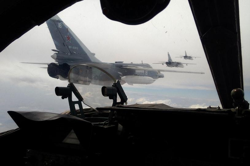 Rosyjskie Su-24 /AFP