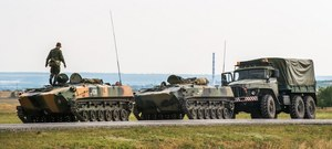 Rosyjskie wojska opanowały Nowoazowsk