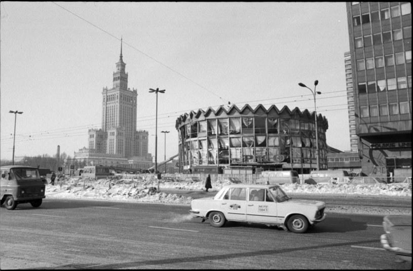Rotunda i okolice po nieszczęśliwym wybuchu /Mariusz Hermanowicz/FOTONOVA  /East News
