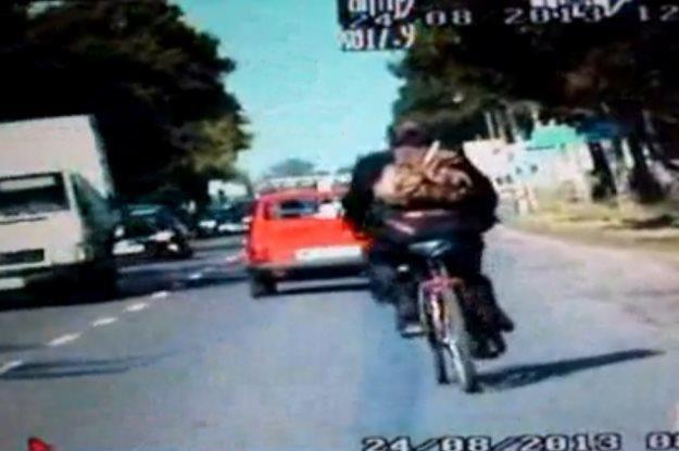 Rowerzysta miał 2,5 promila... /Policja