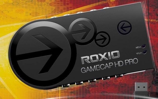 Roxio Game Capture HD PRO - fragment pudełka z zestawem /materiały prasowe