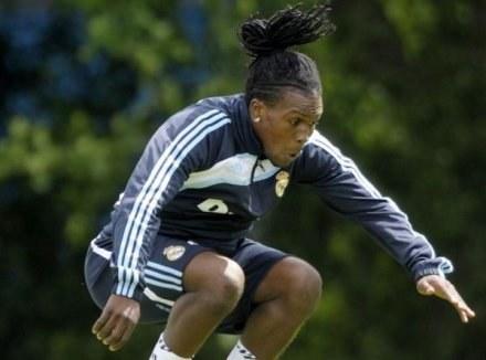 Royson Drenthe na treningu Realu /AFP