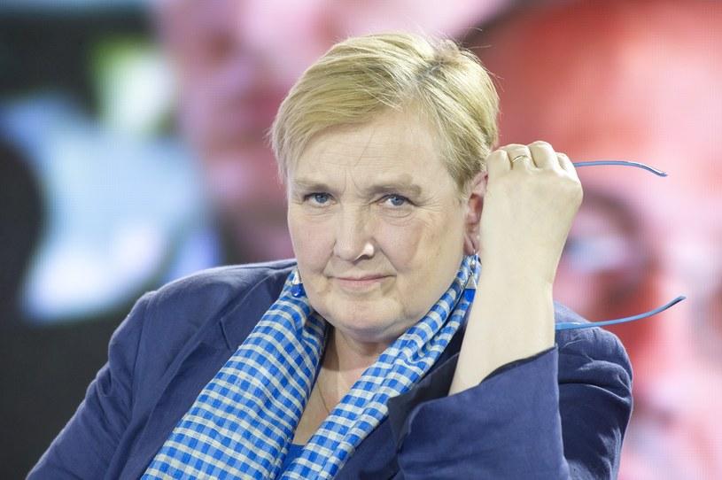 Róża Thun była jedną z osób, której zdjęcie narodowcy zawiesili na szubienicy /Wojciech Stróżyk /Reporter