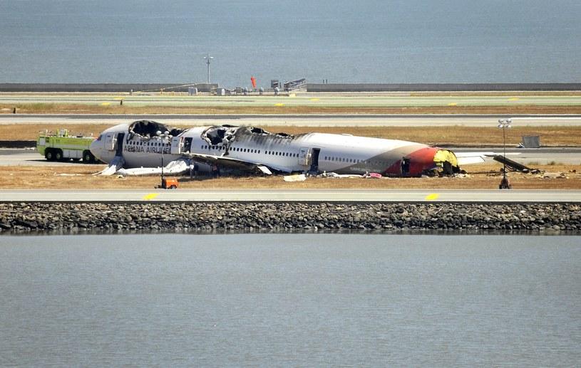Rozbity Boeing 777-200 /AFP