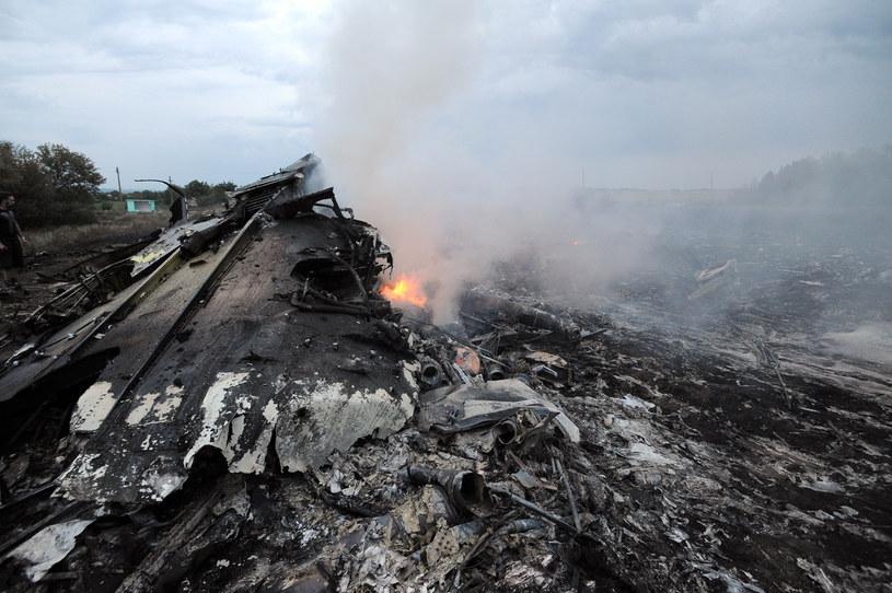 Rozbity samolot /AFP