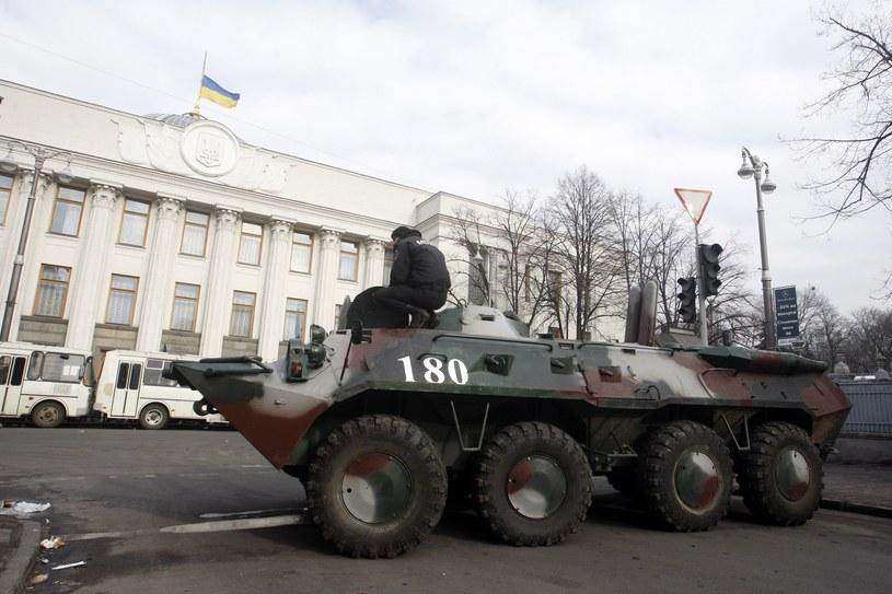 Rozejm ogłoszony w Kijowie został w czwartek zerwany. /AFP