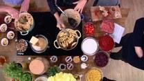 Rozgrzewająca kuchnia na jesień. Jabłka pod cynamonową kruszonką, curry z dynią