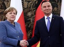 Rozmowa Duda-Merkel. Szczerski zdradza kulisy