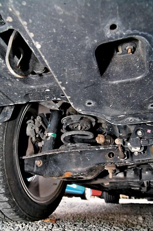 Różne typy zawieszeń /Motor
