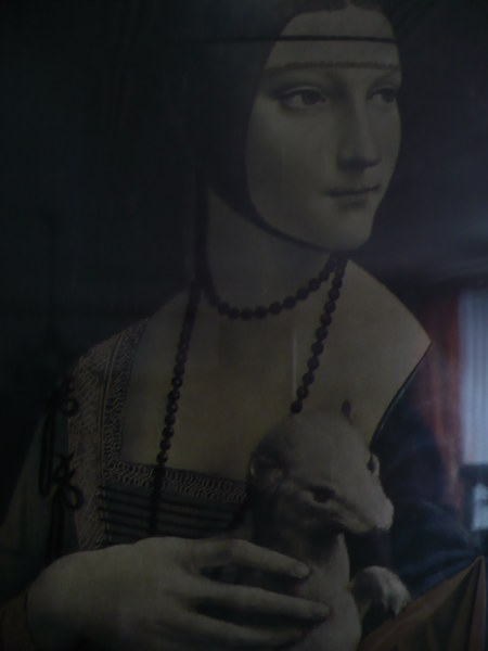 Dama z łasiczką.