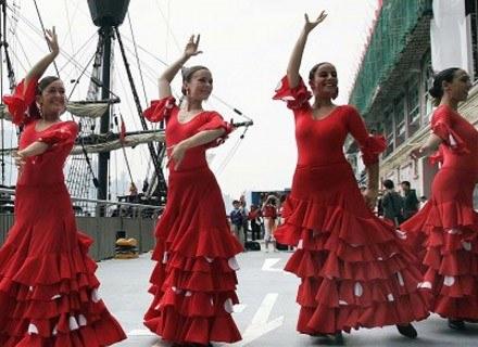 Roznosi cię energia? Wybierz flamenco /AFP