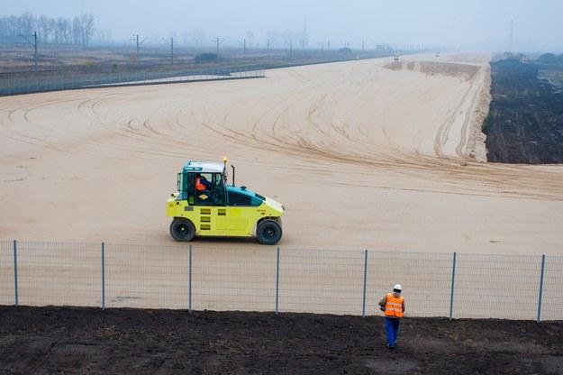 Rozpoczęcie budowy fabryka VW w Białężycach k. Wrześni, 13 listopada 2014 r. /Jakub Walasek /Reporter