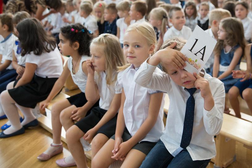 Rozpoczęcie roku szkolnego; zdj. archiwalne /Krystian Maj /FORUM