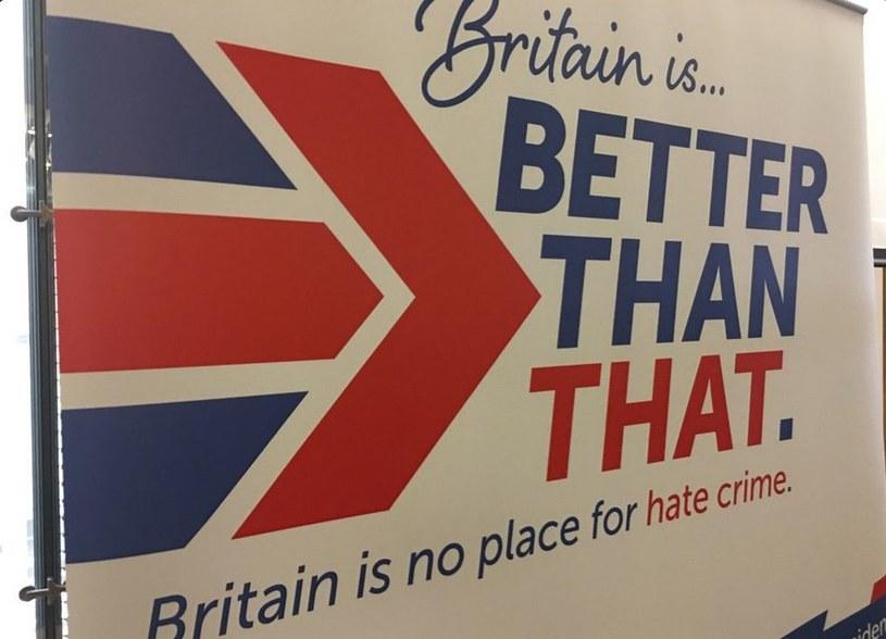 Rozpoczęła się kampania przeciwko przestępstwom z nienawiści, fot. Twitter /