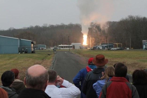 Rozpoczęły się testy nowych silników rakietowych NASA /NASA