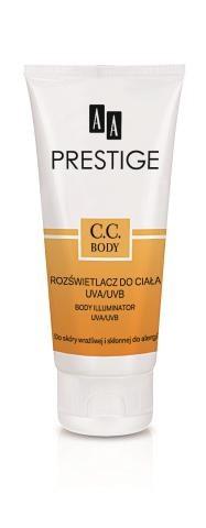 Rozświetlacz do ciała,  CC Body,  AA Prestige,  100 ml/ 49,60 zł. /Mat. Prasowe