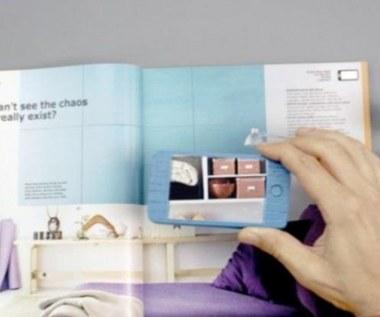Rozszerzona rzeczywistość w katalogu IKEA