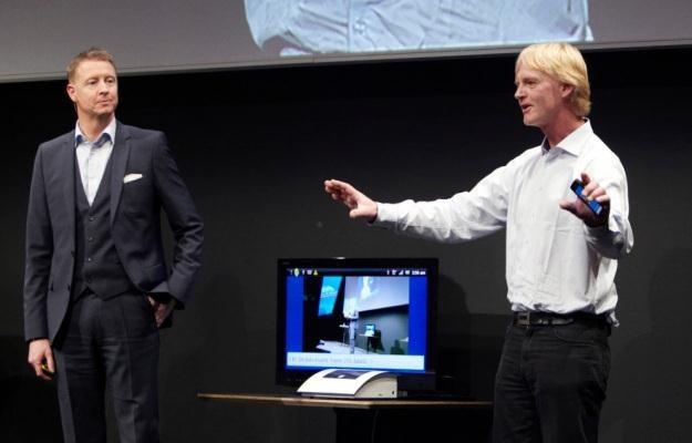 Rozwiązanie Ericssona, wykorzystujące ciało jak przewód transmisyjny, to prędkość 6-10 Mb/s /materiały prasowe