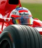 Rubens Barrichello wyruszy do wyścigu z pole position