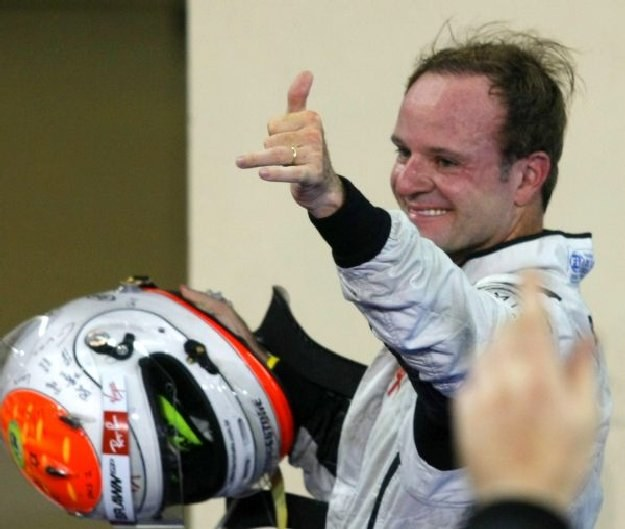 Rubens Barrichello /AFP