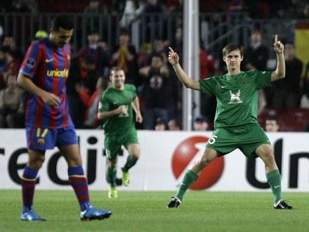 Rubin Kazań pokonał Barcelonę na Camp Nou /AFP