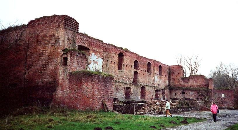 Ruina Zamku Dybowskiego /Odkrywca /Odkrywca